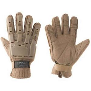 Full Finger Plastic Back Gloves