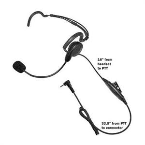 CGB Headset for Motorola single pin