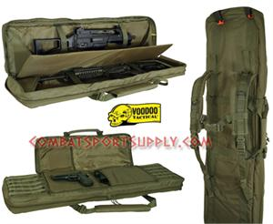 Voodoo Tactical Padded four Weapons Gun Case 46""