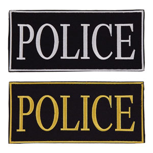 Police Identifier Patch