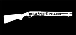 CSS 870 Tactical Shotgun Silhouette Sticker