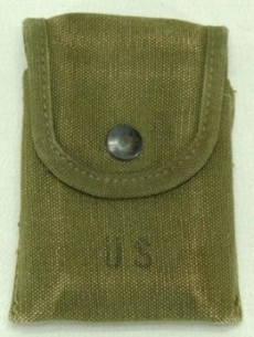 Surplus M1956 First Aid / Compass Pouch - Vietnam Dated