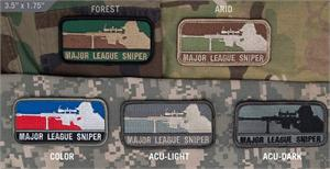 Major League Sniper Patch