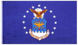 U.S. Air Force Emblem Flag