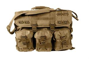 MOLLE Tactical Laptop Briefcase Coyote Brown