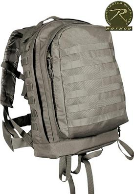 Molle II 3-Day assault Pack Foliage Green
