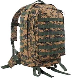 Molle II 3-Day assault Pack Woodland Digital Camo