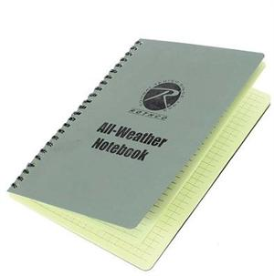 "Rothco All Weather Waterproof Notebook 6""X8"""