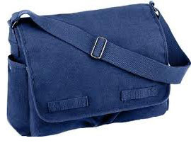 Messenger Bag - Blue