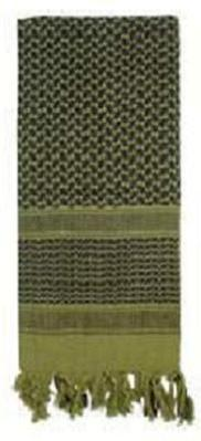 Shemagh / Tactical Desert Scarf Olive Drab & Black