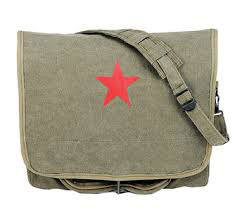 Shoulder Bag - Red Star