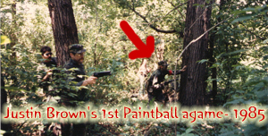 Justin Brown Paintball 1985