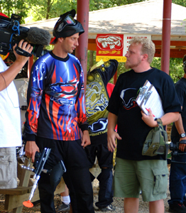 Justin Brown with Tony Hawk Challenge Park Xtreme