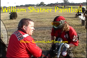 William Shatner Paintball Game Justin Brown