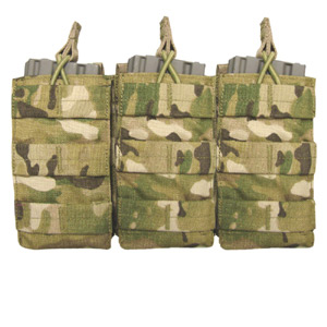 Condor Outdoor crye MultiCam M-4 Open Top Triple Mag Pouch