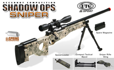 SALE! UTG Shadow Ops Digital Sniper Rifle