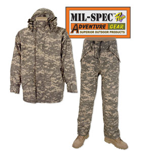 Military ECWCS Parka Pants Combo