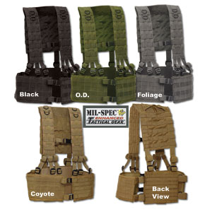 VooDoo Tactical Molle LBE (Load Bearing Equipment) Harness