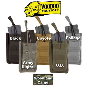 VooDoo Tactical M-4 Open Top Single Mag Pouch