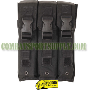 VooDoo Tactical Molle MP5 Triple Magazine Pouch 20-9340
