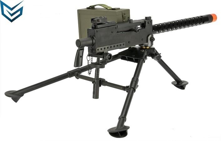 Browning M1919  30 Cal Light Machine Gun Full Metal Replica Airsoft Prop