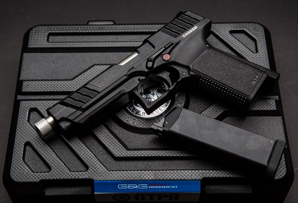 G&G GTP9 GBB Airsoft Pistol with Case