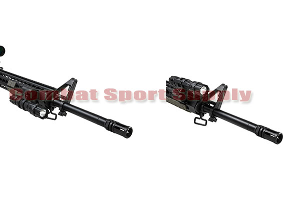 """NcSTAR KeyMod Rifle Extended Accessory Flashlight Laser Ring Adapter Mount 1/"""""""