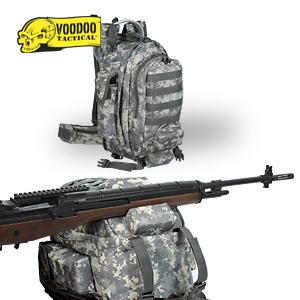 VooDoo Tactical Low Profile Ruck Backpack