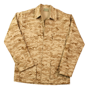 Marine Desert Digital BDU MARPAT Fatigue Jacket