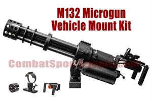 Classic Army M132 Minigun Micro Gun Airsoft Replica Vehicle Mount Kit