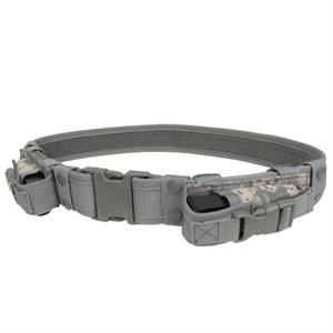 Condor Outdoor Pistol Duty Belt with Dual Mag Pouches