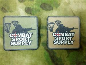Combat Sport Supply 3x3 Patch