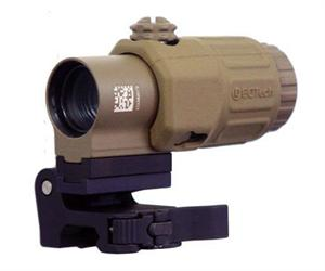EOTech G33.STS MAGNIFIER Tan Flip to Side