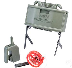 M18A1 Airsoft Claymore Mine w/ Remote Clacker and Trip Wire