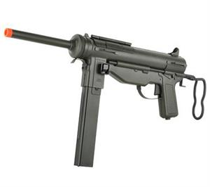 WWII M3A1 Full Steel Grease Gun Airsoft AEG by S&T Matrix