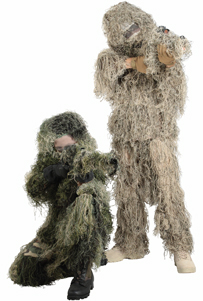 Ghillie Suit Complete Boys Length- Ready to Wear