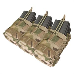 Condor Outdoor CRYE Multicam Molle Triple M4 Stacker Mag Pouch MA44