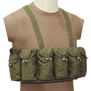 Chinese Chest Rig Harness 7 Pouch SKS Style