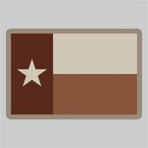 Texas Flag Velcro Patchpatch-00164-desert
