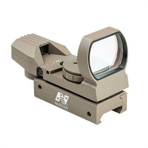 NcSTAR Tan Reflex Red / Green Dot Sight