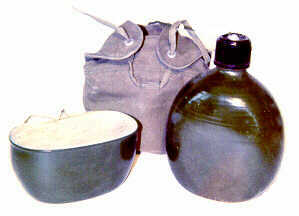 Vietnam NVA VC Canteen with Pouch