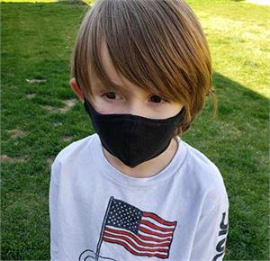 KIDS Size Hemp Protective Face Mask