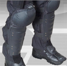 Anti-Riot Hard Shell Knee and Shin Guards