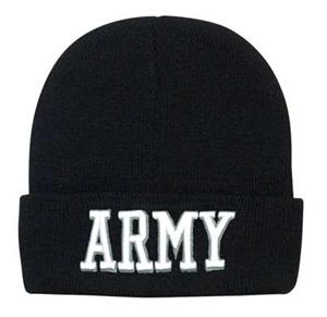 Army Embroidered Watch Cap