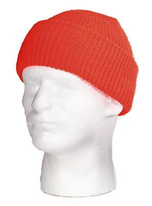 High Visibility Orange Watch Cap