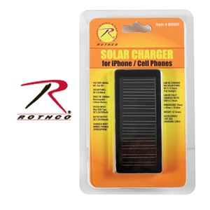 Rothco Portable CELL / iPHONE SOLAR CHARGER