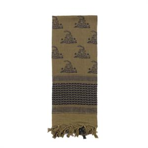 Rothco Shemagh Tactical Desert Scarf Gadsden Snake