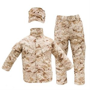 Trooper Clothing Marine Desert Digital Marpat Kids Uniform Set