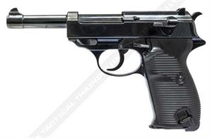 WE P38 Gas Blowback Airsoft Replica Pistol w LED Case