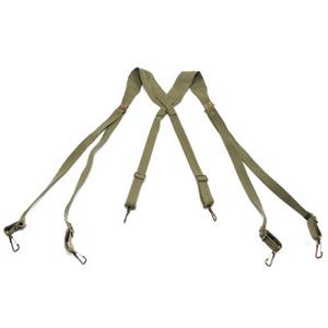 WWII US M1936 Webbing Suspenders Repro Assorted Colors High Quality